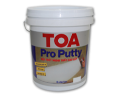 Bột trét Cao Cấp TOA Pro Putty - 25kg (in & ext)